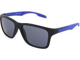 Basley Sun KIDS Sonnenbrille 8086 A 31 Kunststoff Schwarz Blau