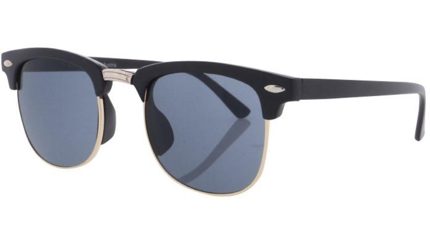 Basley Sun KIDS Sonnenbrille 8028-A-50 Kunststoff Schwarz/Gold