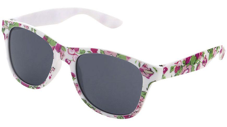 Basley Sun KIDS Sonnenbrille 8111-A-30 Kunststoff Weiss/Blumen