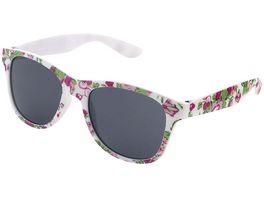 Basley Sun KIDS Sonnenbrille 8111 A 30 Kunststoff Weiss Blumen