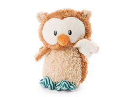 NICI Owlsons Baby Eule Owlino 22 cm mit Gelenk