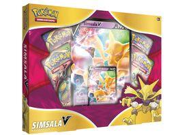 Pokemon Sammelkartenspiel Simsala V Box
