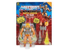 Mattel Masters of the Universe Origins Deluxe Actionfigur 14 cm He Man zum Spielen und Sammeln Geschenk fuer 6 bis 10 Jaehrige und erwachsene Sammler