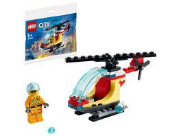 LEGO City 30566 Feuerwehrhubschrauber