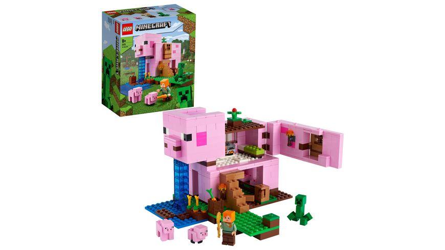 LEGO Minecraft 21170 Das Schweinehaus