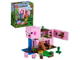 LEGO 21170 Minecraft Das Schweinehaus Konstruktionsspielzeug