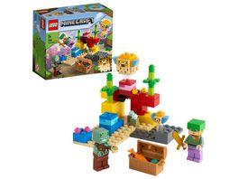 LEGO 21164 Minecraft Das Korallenriff Konstruktionsspielzeug