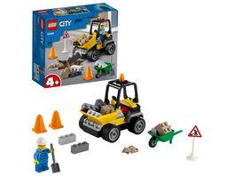LEGO City 60284 Baustellen LKW