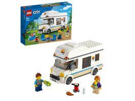 LEGO 60283 City Ferien Wohnmobil Konstruktionsspielzeug