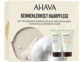 AHAVA Mineral Shampoo Conditioner Kit