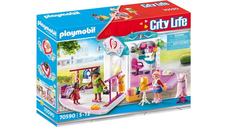 PLAYMOBIL 70590 - City Life - Fashion Design Studio