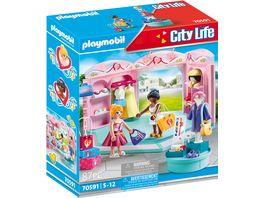 PLAYMOBIL 70591 City Life Fashion Store