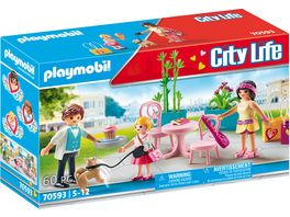 PLAYMOBIL 70593 City Life Kaffeepause