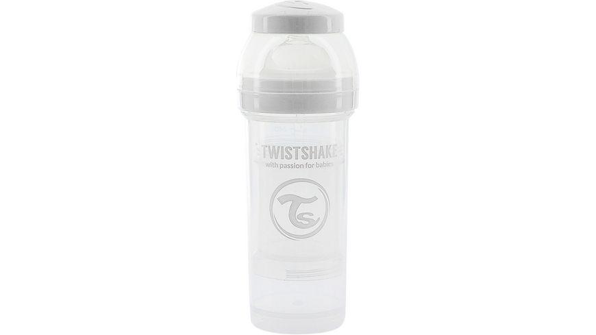 TWISTSHAKE Anti-Koliken Babyflasche Weiß