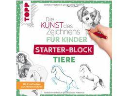 Die Kunst des Zeichnens fuer Kinder Starter Block Tiere