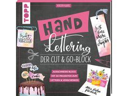Handlettering Der Cut Go Block