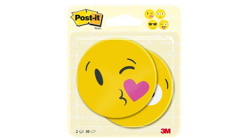 Post-it® Notes Face Designs 70 x 70mm 2x30 Blatt