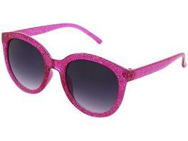 Basley Sun KIDS Sonnenbrille 8092 A 32 Kunststoff Pink Glitzer