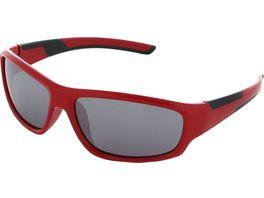 Basley Sun KIDS Sonnenbrille 8107 S 33 Kunststoff Rot Silber Verspiegelt