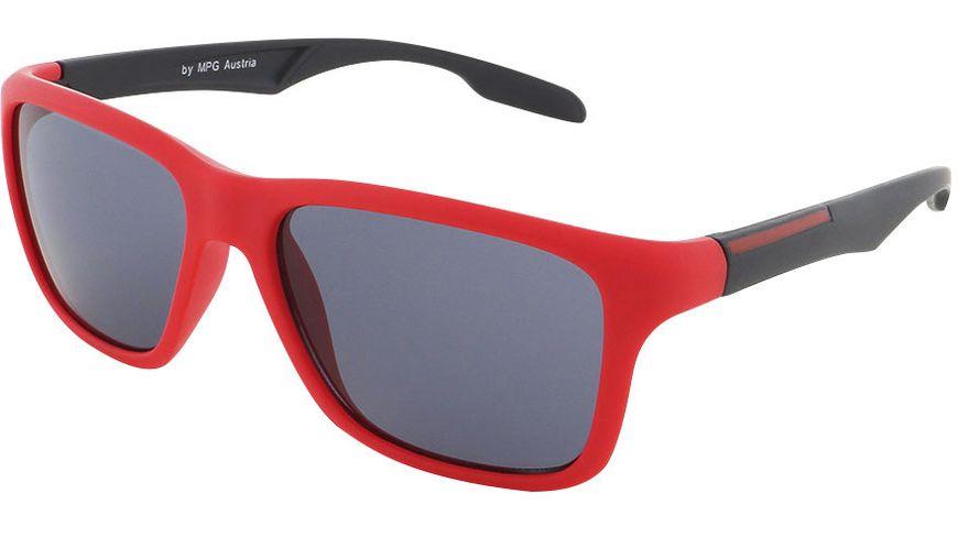 Basley Sun KIDS Sonnenbrille 8086-A-33 Kunststoff rot/Schwarz