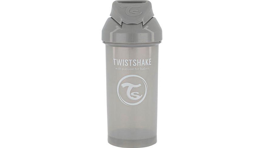 Twistshake Strohhalmbecher Pastell Grau
