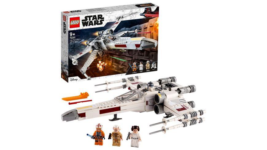 LEGO 75301 Star Wars Luke Skywalkers X-Wing Fighter, Spielzeug
