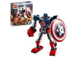 LEGO 76168 Super Heroes Captain America Mech Konstruktionsspielzeug