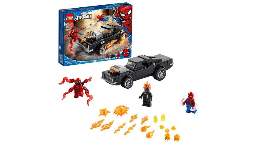 LEGO 76173 Super Heroes Spider-Man und Ghost Rider vs. Carnage