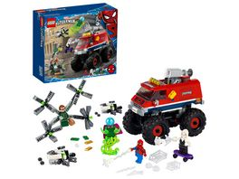 LEGO 76174 Super Heroes Spider Mans Monstertruck vs Mysterio Spielzeug