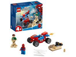 LEGO 76172 Super Heroes Das Duell von Spider Man und Sandman Spielzeug