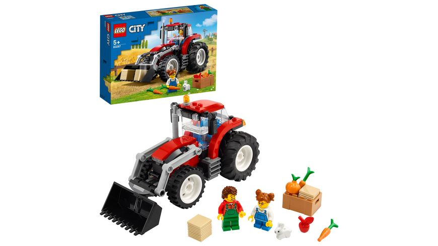LEGO 60287 City Traktor, Konstruktionsspielzeug