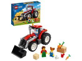 LEGO 60287 City Traktor Konstruktionsspielzeug