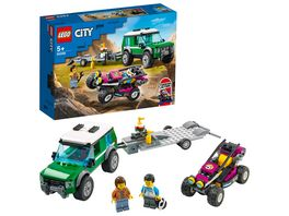 LEGO City 60288 Rennbuggy Transporter