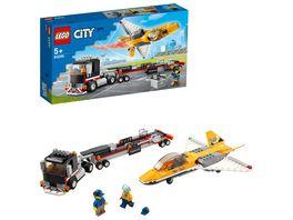 LEGO 60289 City Flugshow Jet Transporter Konstruktionsspielzeug