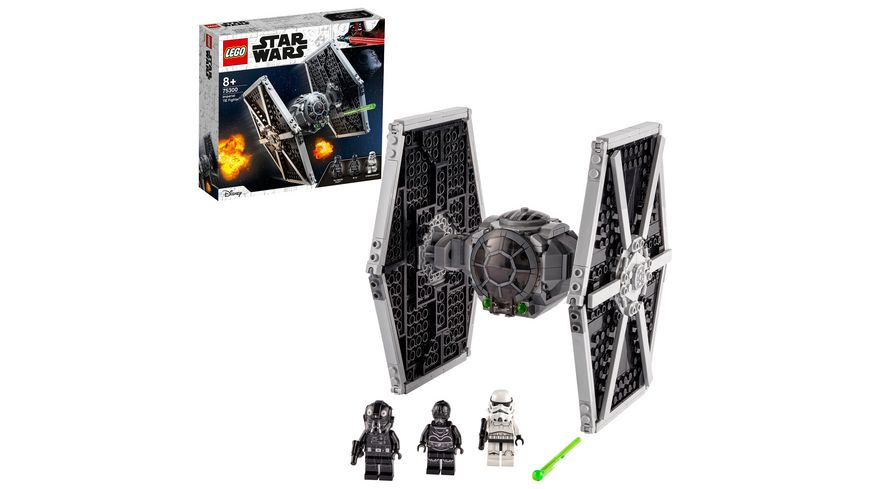 LEGO 75300 Star Wars Imperial TIE Fighter, Konstruktionsspielzeug