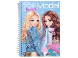 TOPModel Pocket Malbuch mit 3D Cover