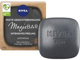NIVEA MagicBAR Feste Gesichtsreinigung mit Aktivkohle