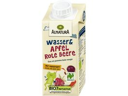 ALNATURA Bio Wasser Apfel Rote Beere