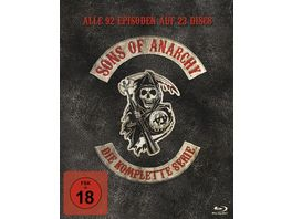 Sons of Anarchy Complete Box 23 BRs