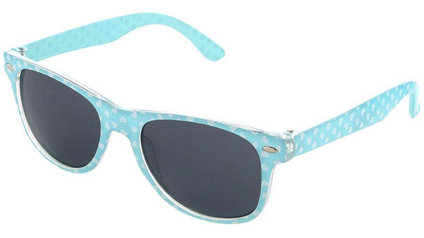 Basley Sun KIDS Sonnenbrille 8102-A-37 Kunststoff Blau/Herzen