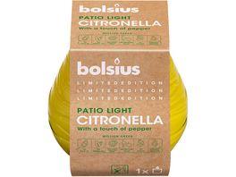 bolsius Patio Licht Citronella