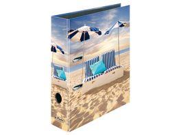 herlitz Ordner maX file A4 8cm Strandbett