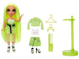 Rainbow High Fashion Doll Karma Nichols Neon