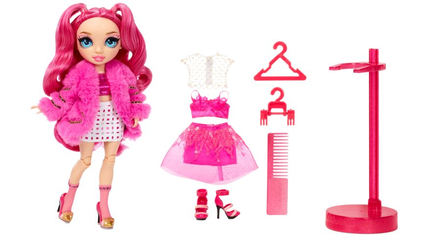 Rainbow High Fashion Doll- Stella Monroe (Fuschia)