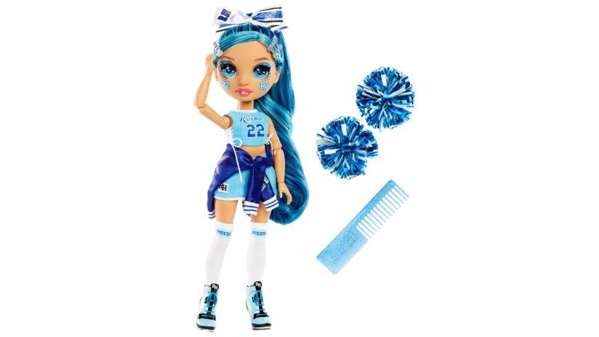 Rainbow High Cheer Doll- Skyler Bradshaw (Blue)