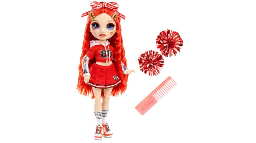 Rainbow High Cheer Doll - Ruby Anderson (Red)