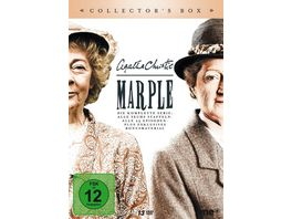 Agatha Christie Marple Die komplette Serie Collector s Box Alle sechs Staffeln Alle 23 Episoden Plus exklusives Bonusmaterial 13 DVDs