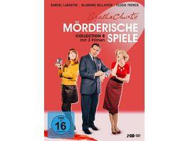 Agatha Christie Moerderische Spiele Collection 8 2 DVDs