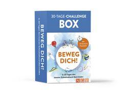 Beweg dich 30 Tage Challenge Box