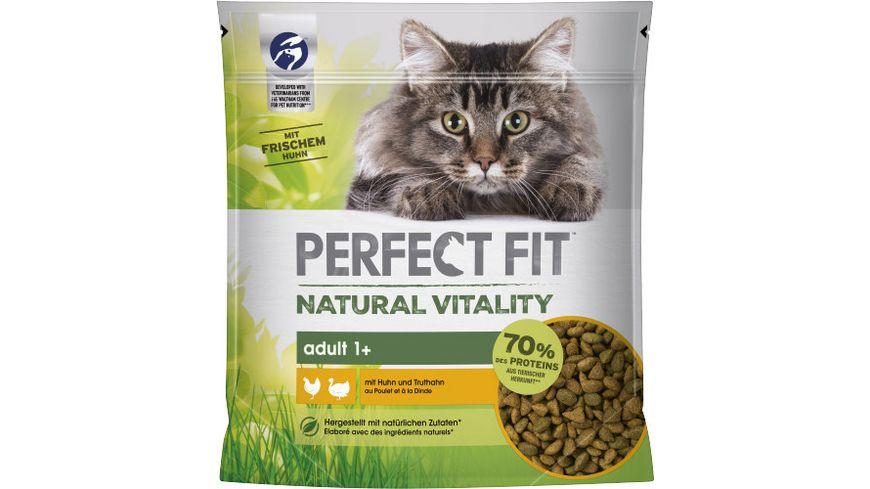 PERFECT FIT™ Katze Beutel Natural Vitality Adult 1+ mit Huhn und Truthahn
